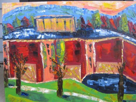 Abstraction of campus by jmarks0257