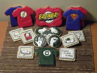 Big Bang Theory Cookies by Afina79
