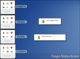 Tango Status Icons for Windows 7 by RudeBoySes