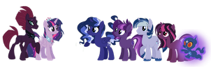 TwiPest Family by ThePegasisterPony
