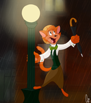Singing in the Rain - Danny by FluffyTiger97