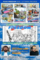 FOUR FREEDOM update and Dwayne Biddix by sonicblaster59