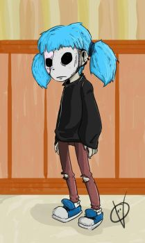 Sally Face: At the Hallway by SouL00020