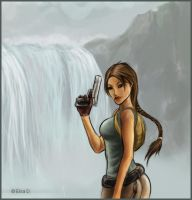 Tomb Raider by Elsouille