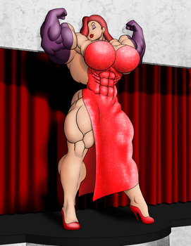 Buff Jessica Rabbit by OrionPax09