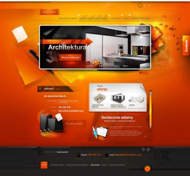 3d-architektura.pl - website version 1 by webdesigner1921