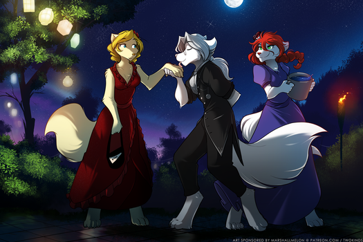 Moonlight Meeting by Twokinds