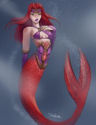 Mermaid 2 by SteveMillersArt