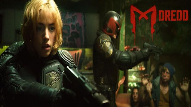 Dredd And Anderson by douglasfany