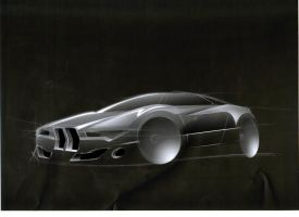 BMW M1 Concept. by JacobKuiper