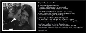 Impossible To Love You by VisualPoetress