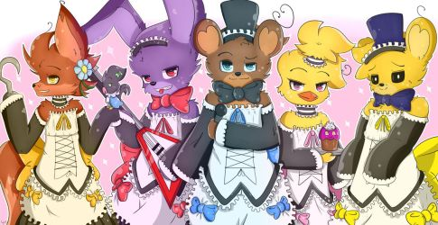 Five Nights at Freddy's Maid by TogeticIsa
