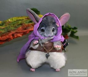 Assassin Chinchilla by hon-anim