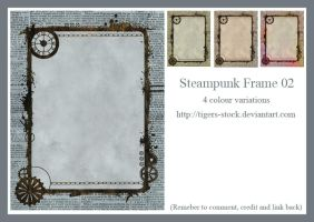 271 Steampunk Frame 02 by Tigers-stock