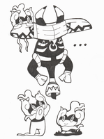 Inktober Day 29- Tapu Bulu and its Orphans