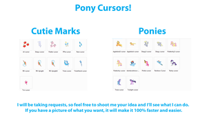 Pony Cursors by RDA5H