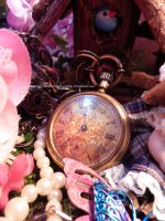 Pocket Watch And Pearls by GlimmeringStarshine
