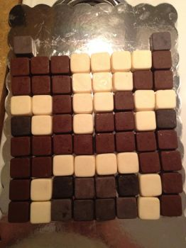 Chocolate Minecraft Cow by tozoa