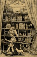 The laboratory of young witch by fffiesta