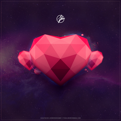 Low poly Love by johny01