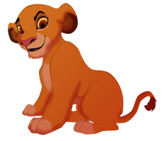 Simba Gender bender by MagicZombie