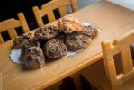 Chunky Choco Chip Cookies and Turtle Bread by ahnpan