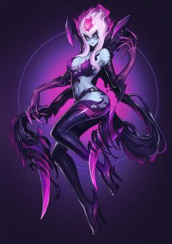 League of Legend Evelynn Fanart by drogod