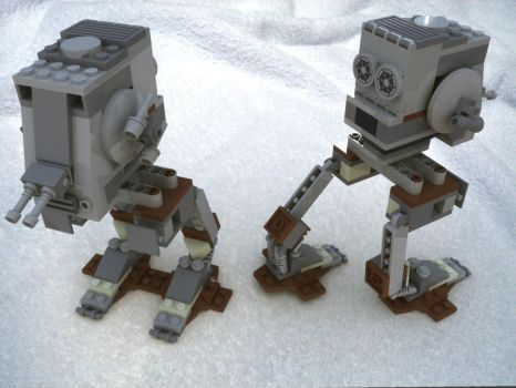 Lego Imperial AT-ST by MrElusive777