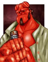 Hellboy by Danger-Jazz