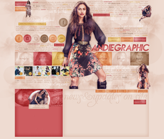 Layout ft. Irina Shayk by Andie-Mikaelson
