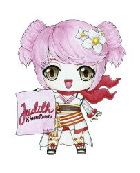 Amy Fansign for Judith by celloxiii