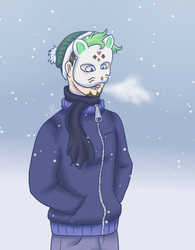 Winter Marvin by annini123