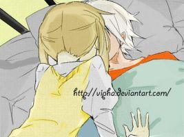 Maka kiss Soul had a fever by Vipha