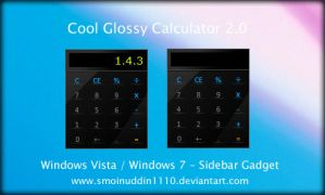 Cool Glossy Calculator 2.0 by smoinuddin1110