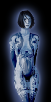 Cortana by krillatron