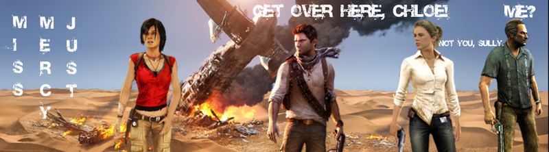 Uncharted 3 Header 1 by MissMercyJust