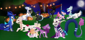 Kamishiba Halloween Prompt 1 - 2015 by KenotheWolf