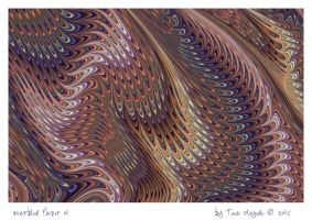 Marbled Paper 01 by aartika-fractal-art