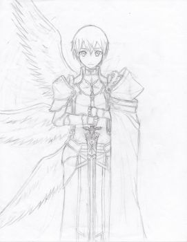 Kirito Synthesis Zero-Uncolored by Yang-Kudo