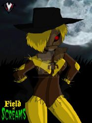 Field of Screams - The Scarecrow's New Outfit by PlayboyVampire