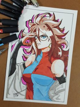 Day 265 android 21 by TomatoStyles