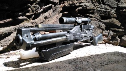 Long blaster rail gun custom by hapajedi
