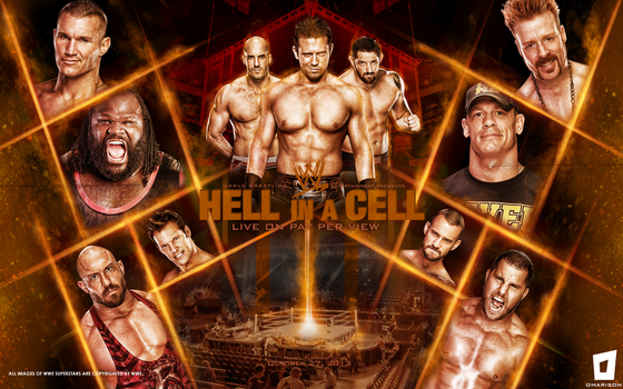 WWE Hell In A Cell 2013 Wallpaper by Omarison