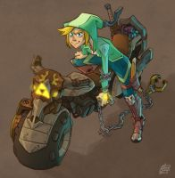 Turbo Link by HideTheOrange