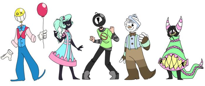 Oh look some adoptables  by inkspecco
