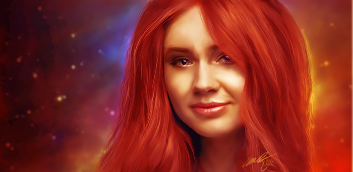 Amy Pond by emsen