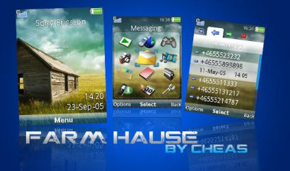 FarmHause Sony Ericsson Theme by Cheas