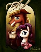 Beauty and the Beast by Whitestar1802