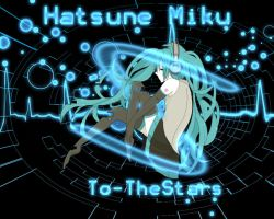 Vocaloid Hatsune Miku Neon Wallpaper by To-TheStars