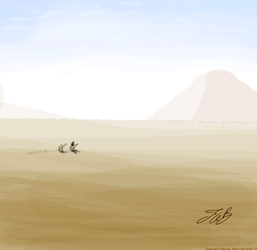PyramidinDesert by Andre2099